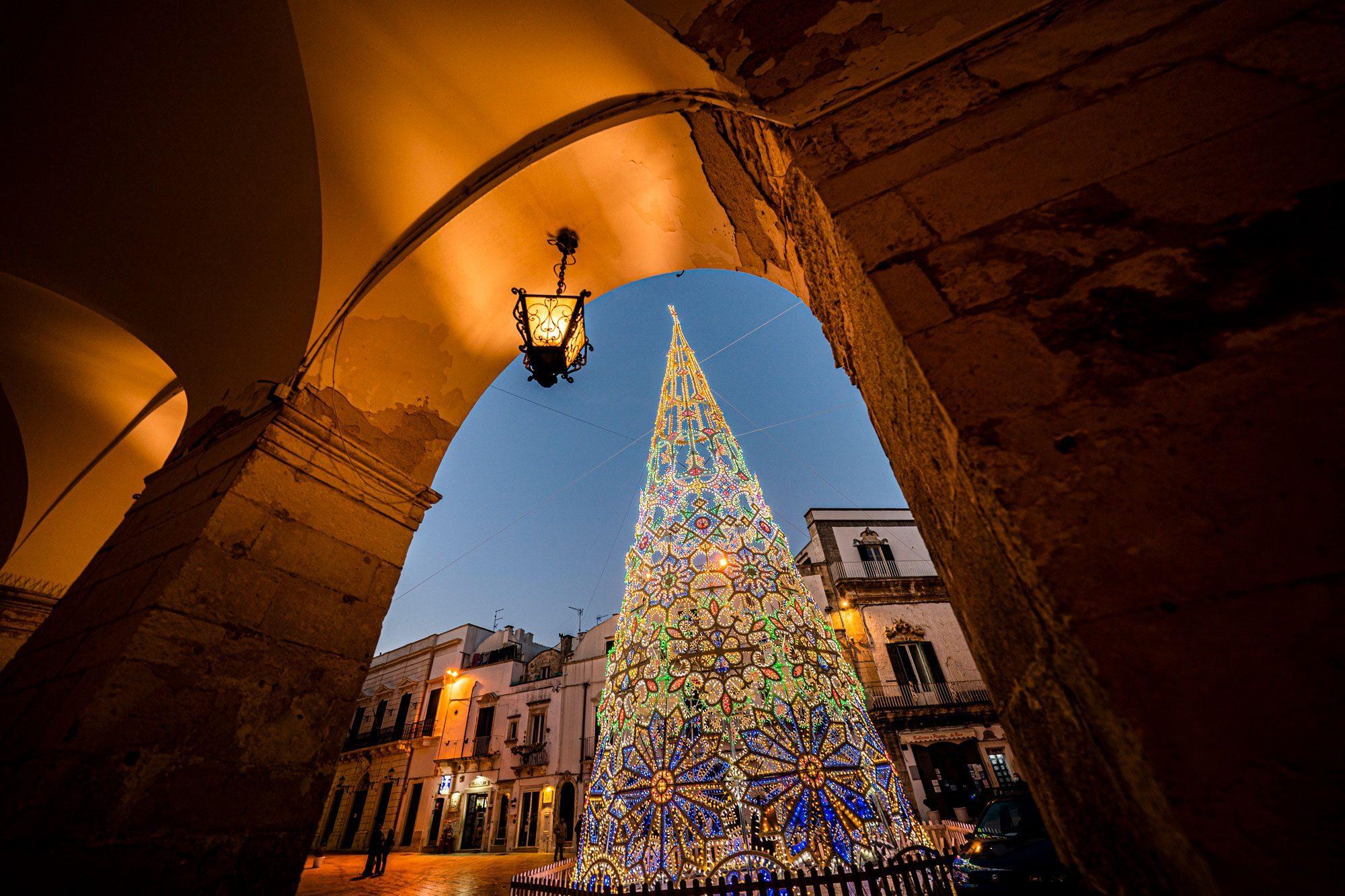 Albero Arco Natale